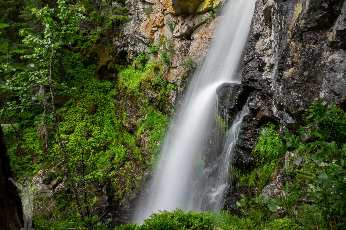 Vattenfall i Jämtland - Sångbäcksfallet