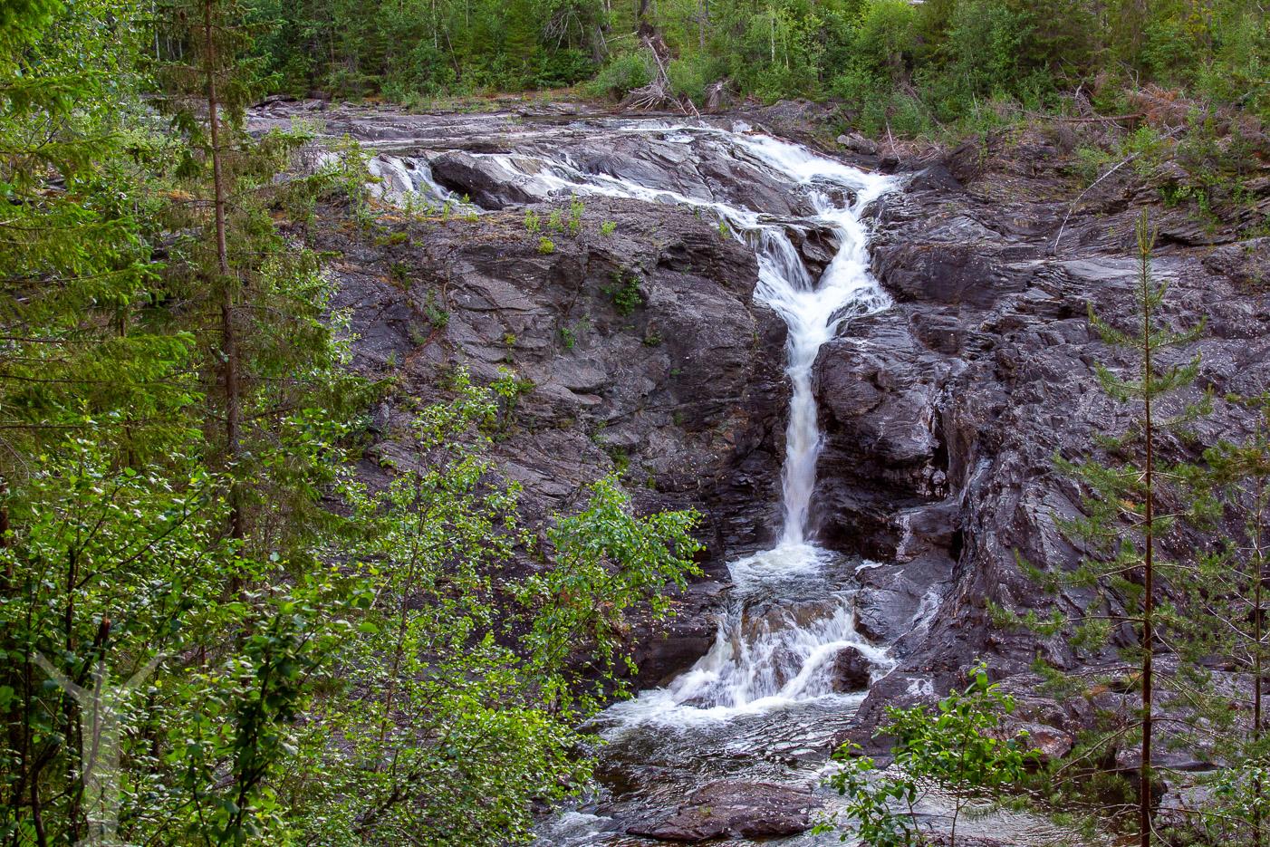 Storbofallet - vattenfall utanför Östersund