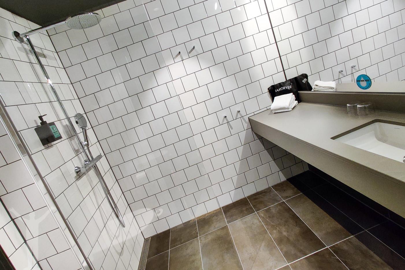 Badrummet på rummet