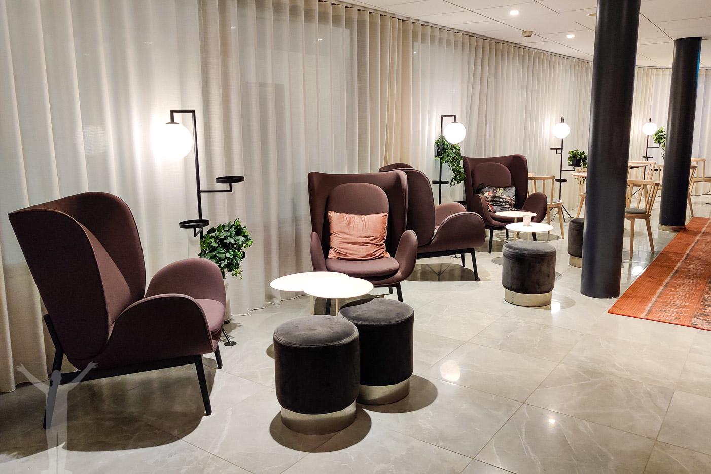 Lounge på Scandic Uplandia