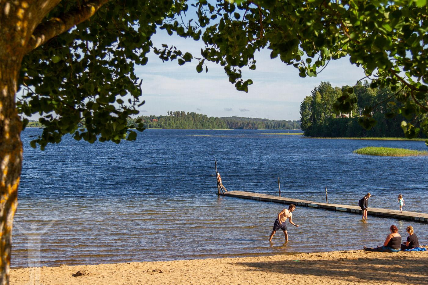 Badplats vid Sundlingska Gården