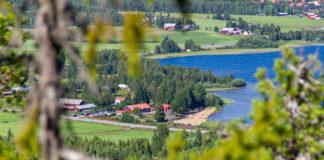 Utsikt mot Sundlingska gården