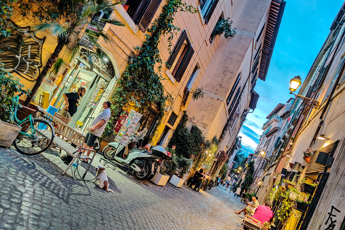 Kväll i Trastevere