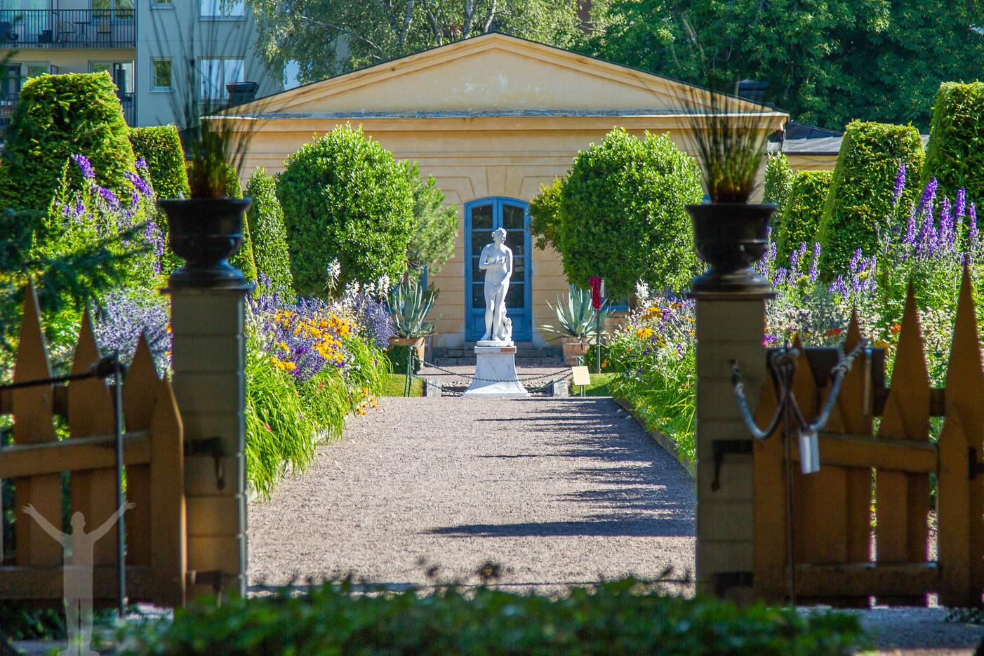 Linneträdgården i Uppsala