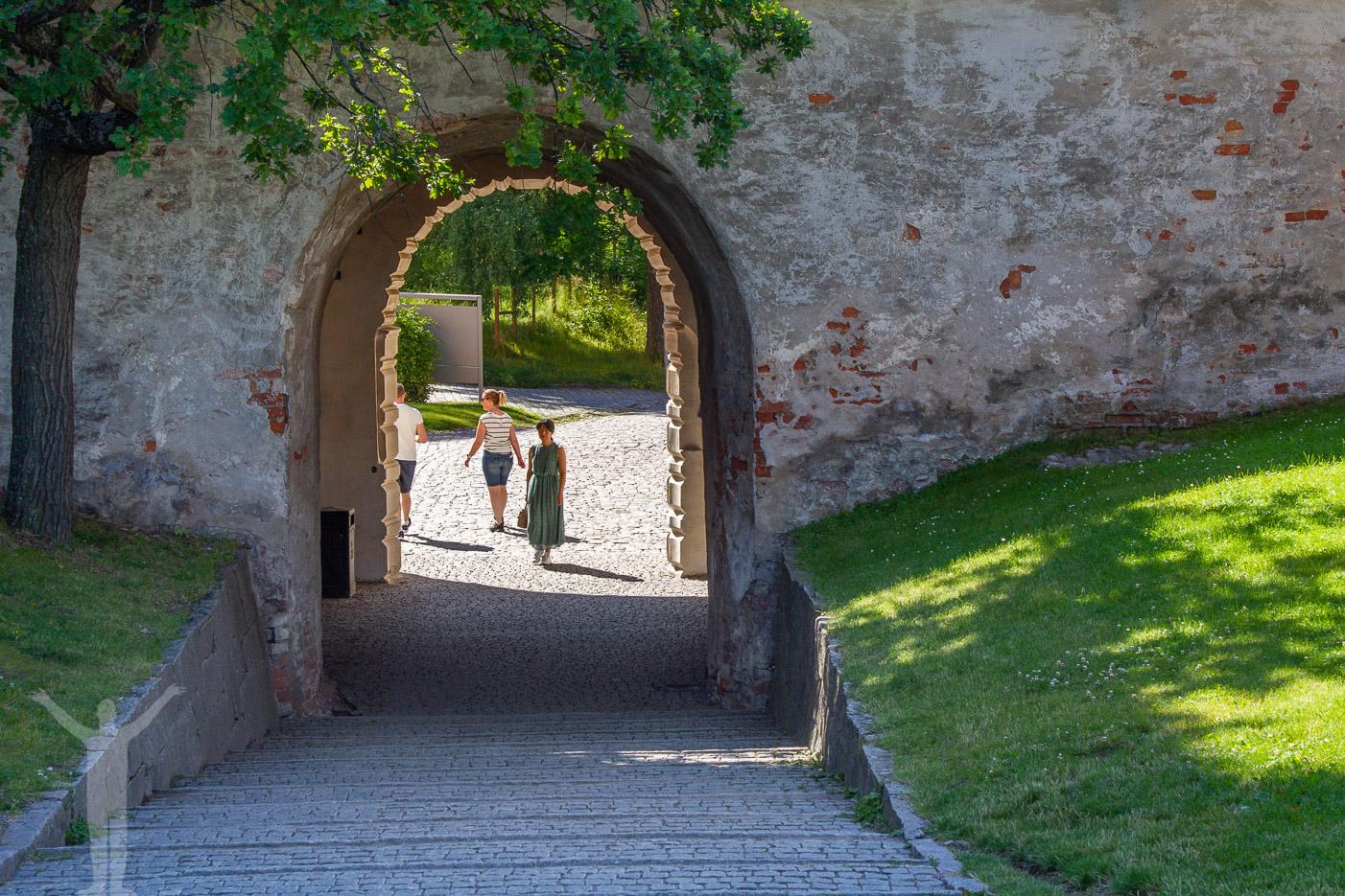 Vid Uppsala Slot