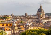 Casina Valadier - utsiktsplats i Rom