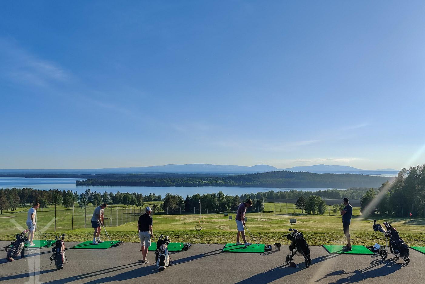 Rangen på Östersund Frösö Golfklubb