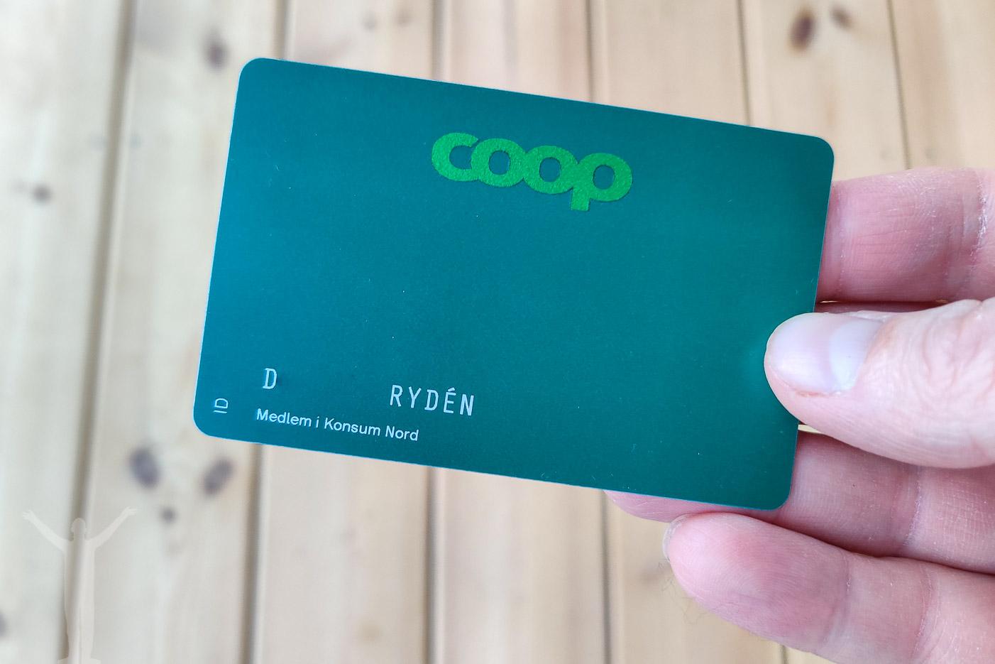 Coop och ännu ett plastkort till sopberget