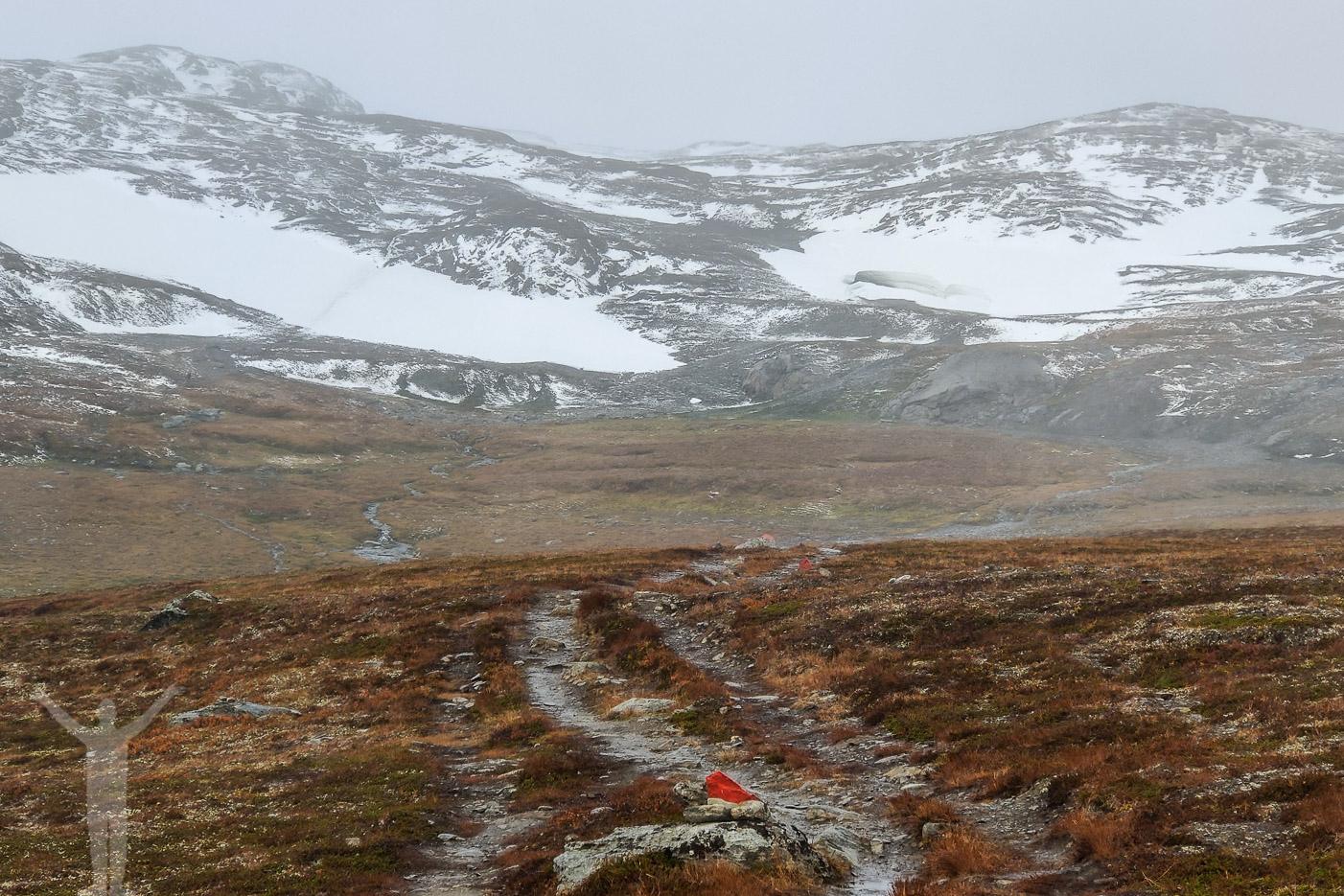 Vandringsled till Låktatjåkko fjällstation