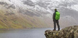 Dryden vid vandring till Trollsjön