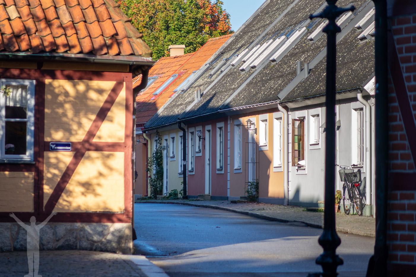 Små kvarter i Ystad