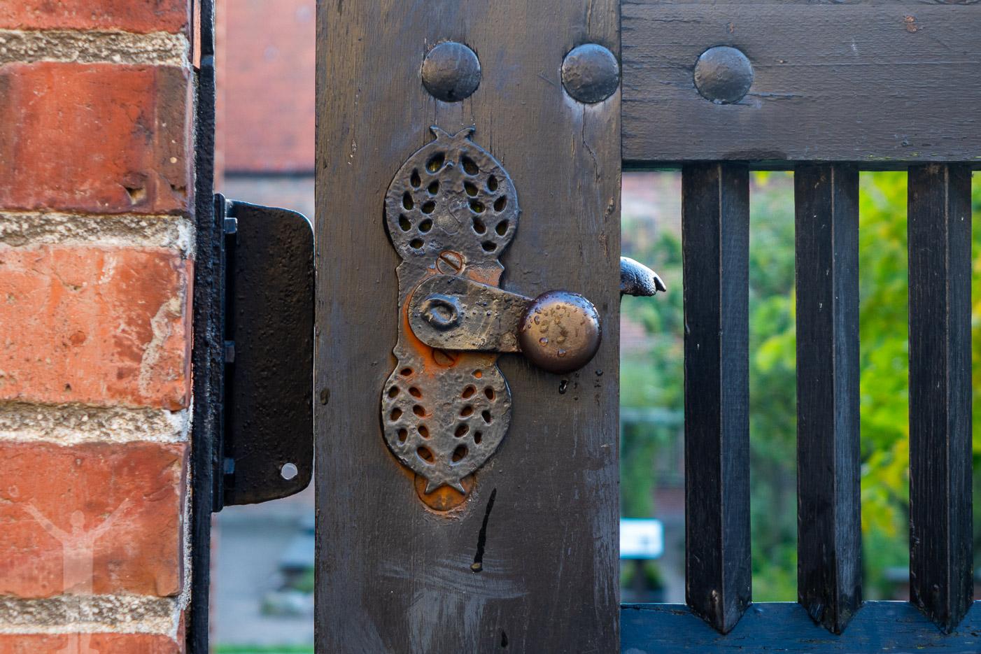 Grind och dörrhandtag
