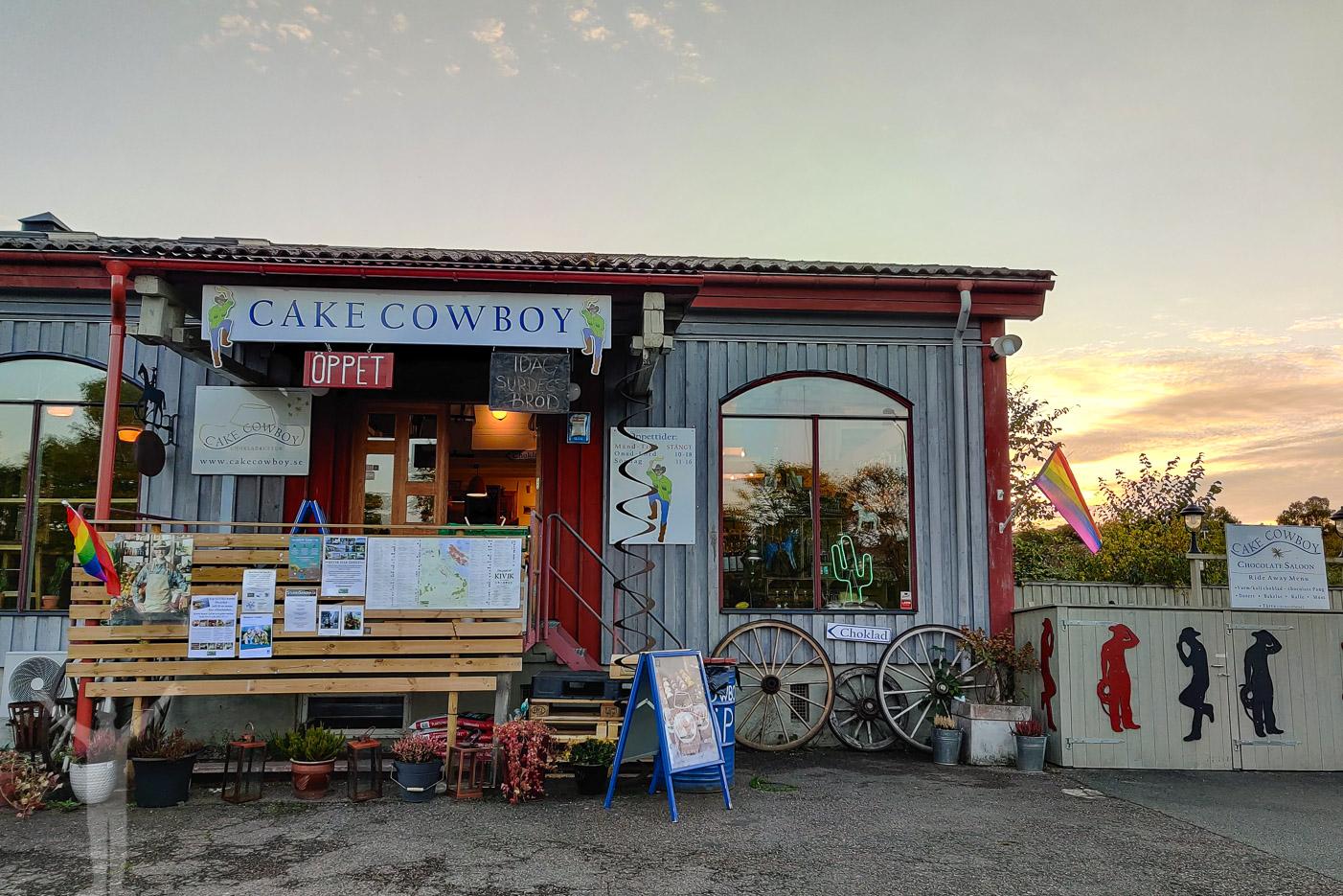 Cake Cowboy, butik i Kivik