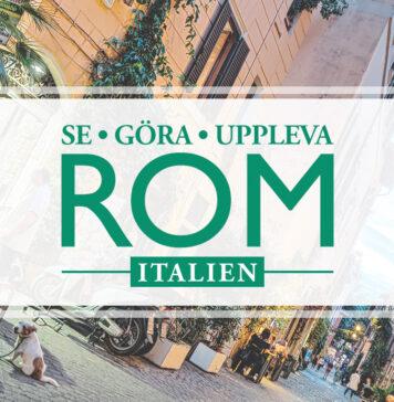 Tips på saker att uppleva, se och göra i Rom
