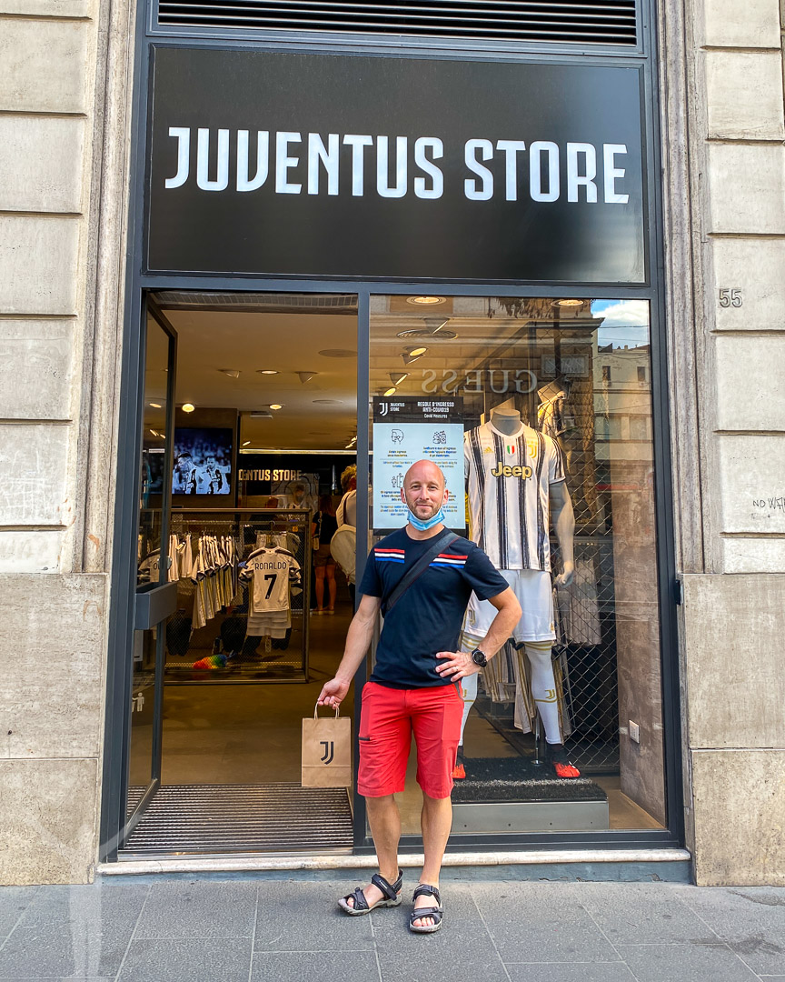Juventus Store i Rom