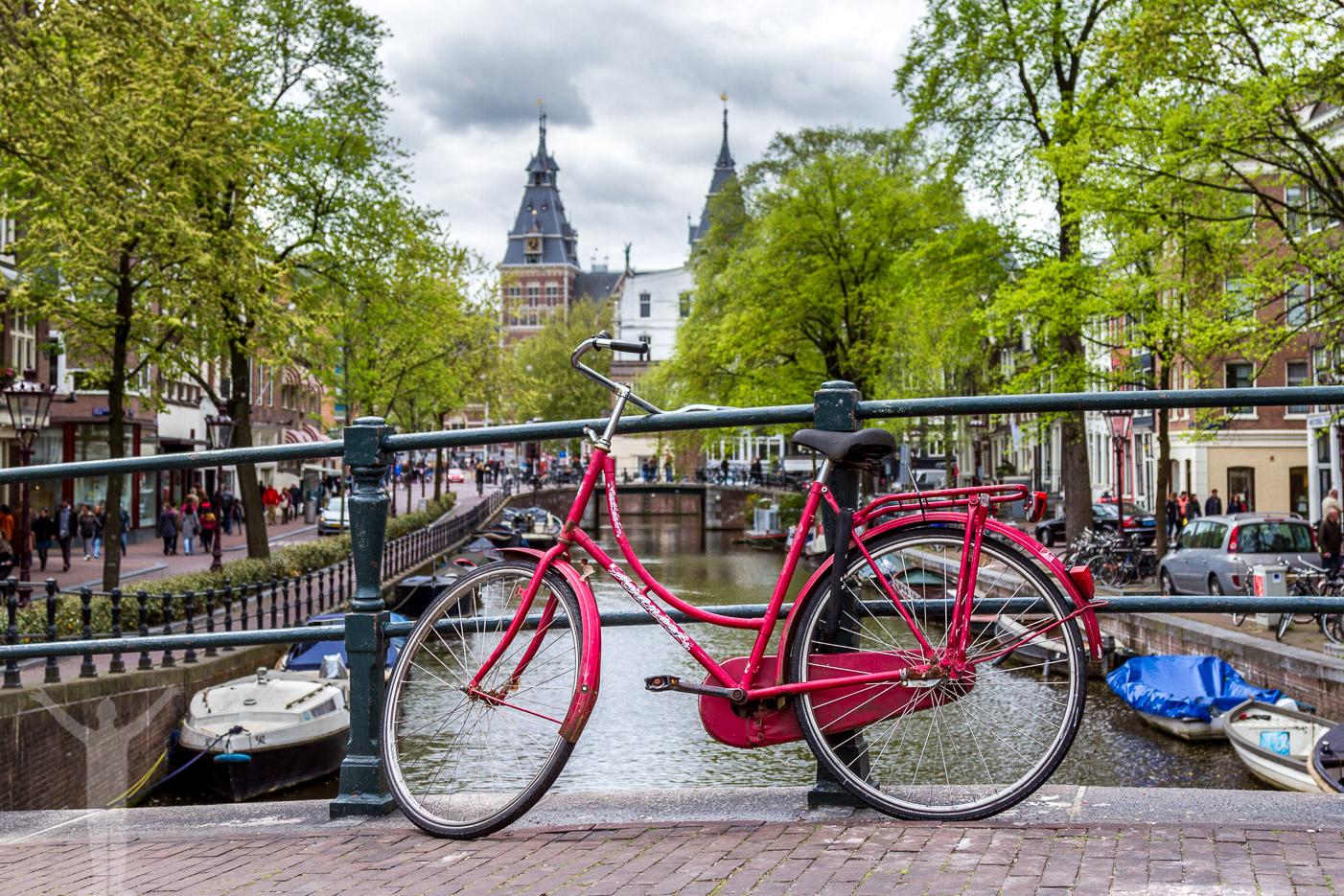Cykel i Amsterdam