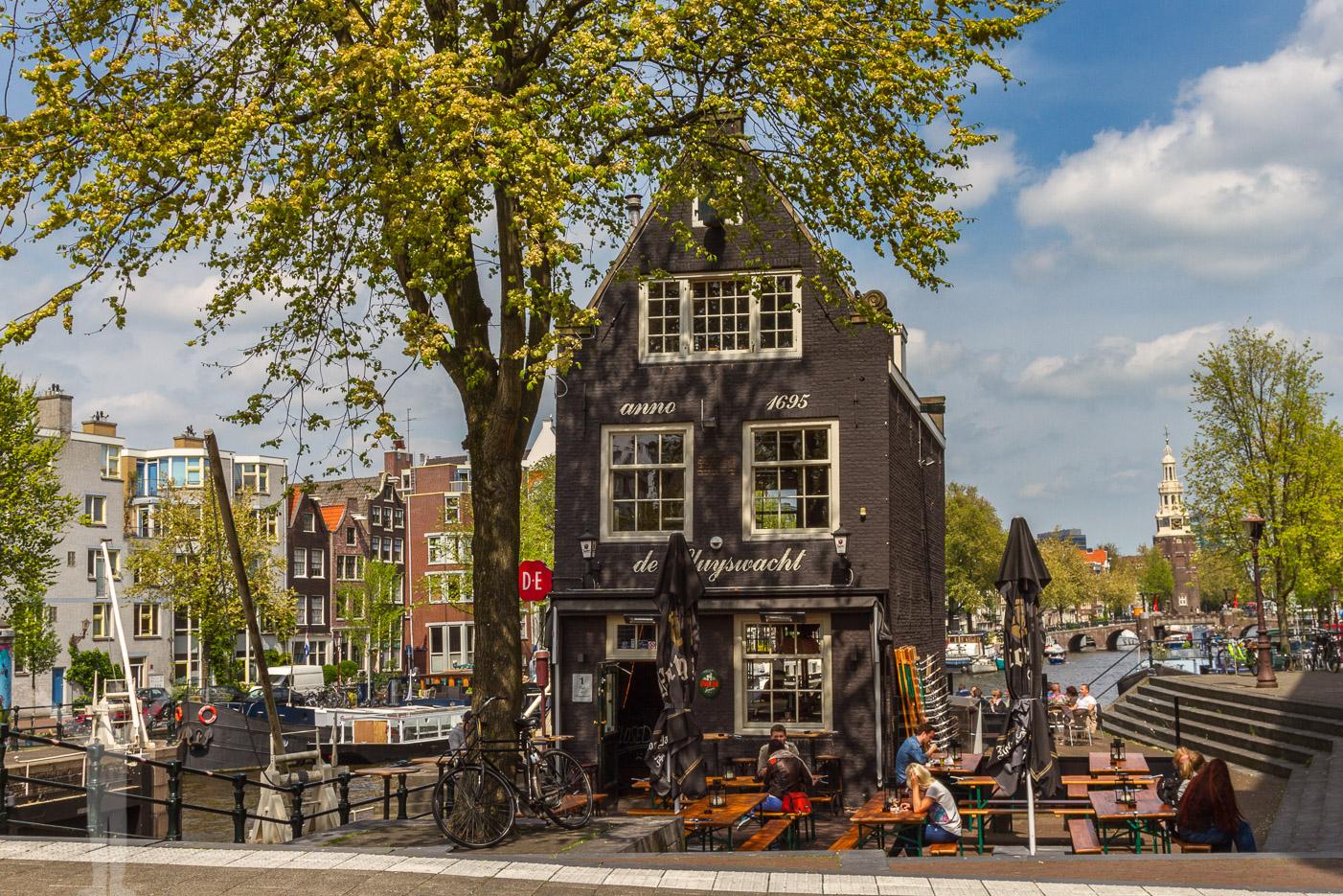Kanalhus i Amsterdam
