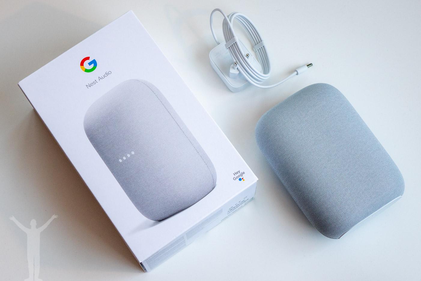 Google Nest Audio - unboxing