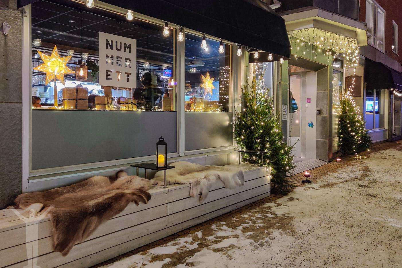 Restaurang och co-workingplace Nummer Ett i Östersund