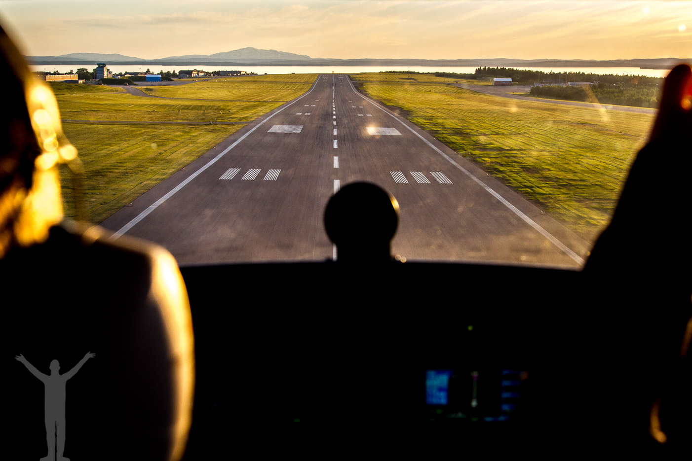 Åre Östersund Airport, del av Green Flyway på International Civil Aviation Day
