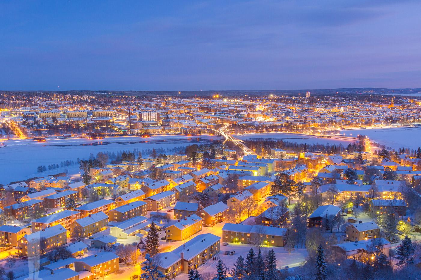 Juldagen i Östersund - ett annat år