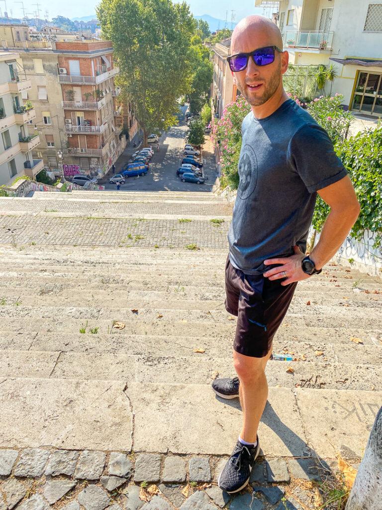 Sommarlöpning i Rom