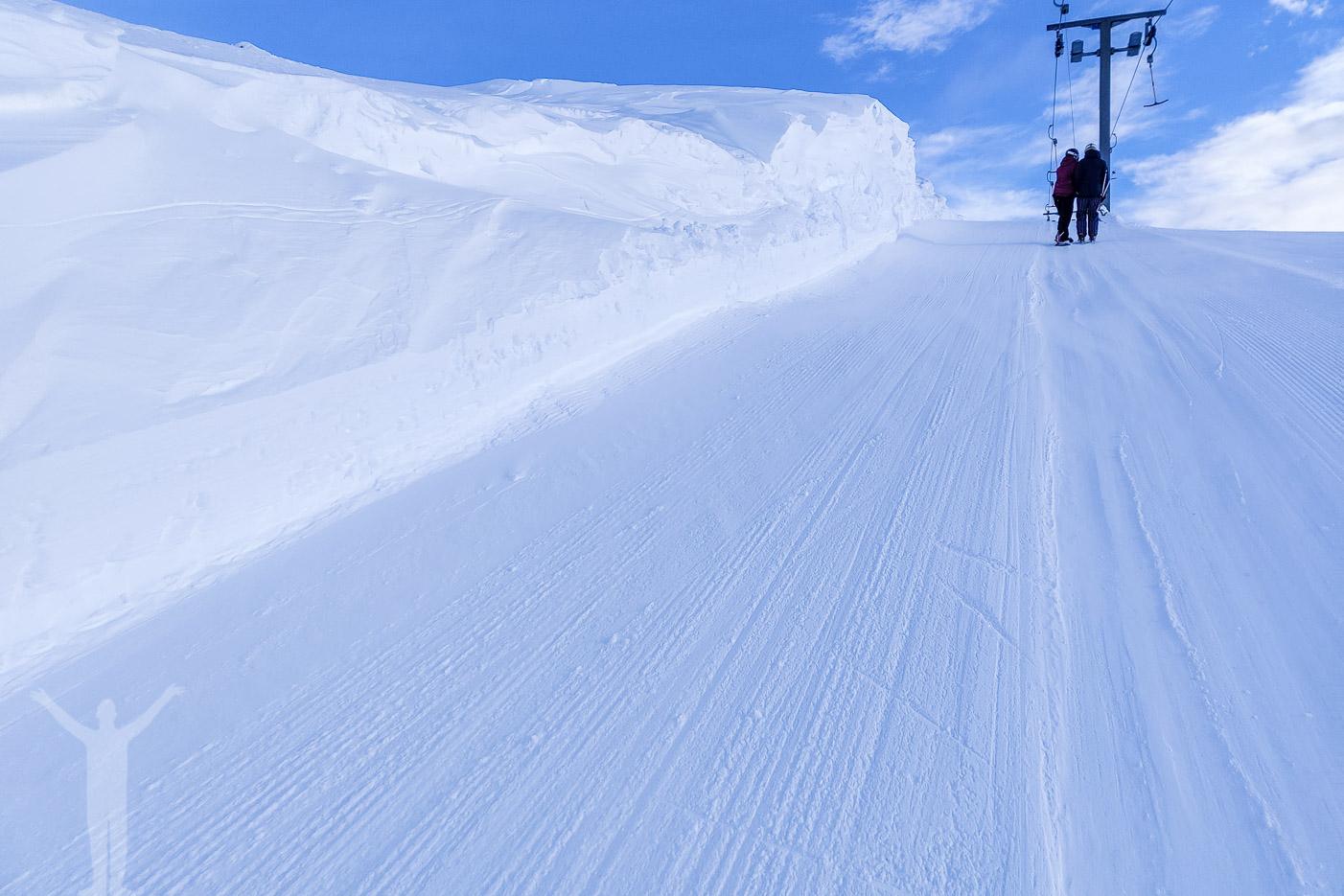 Liften Björn om du ska åka skidor i Björnrike