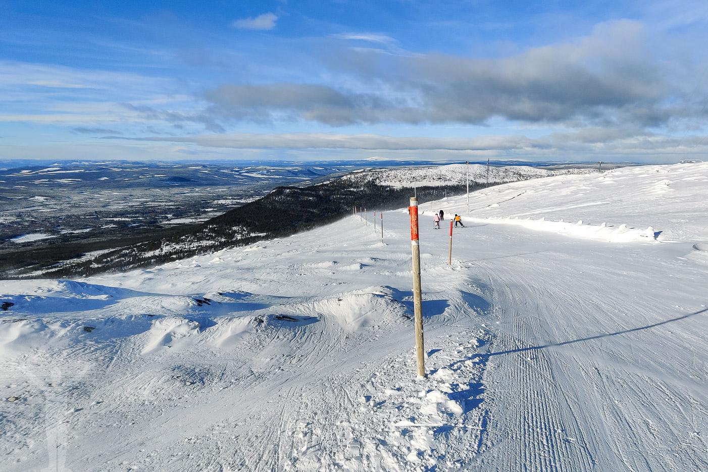 Långsvängen - åka skidor i Björnrike