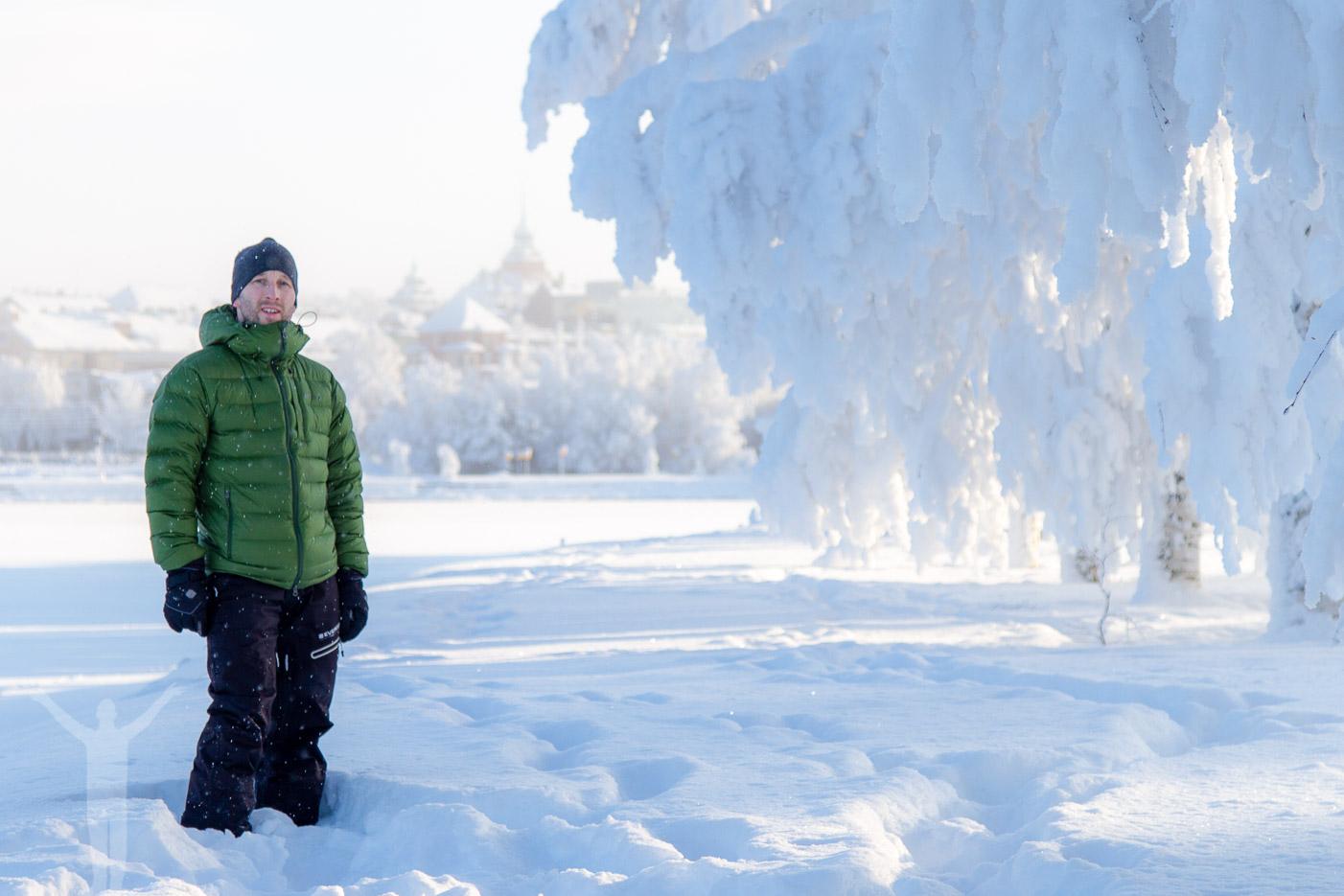 Dryden med Östersund i bakgrunden