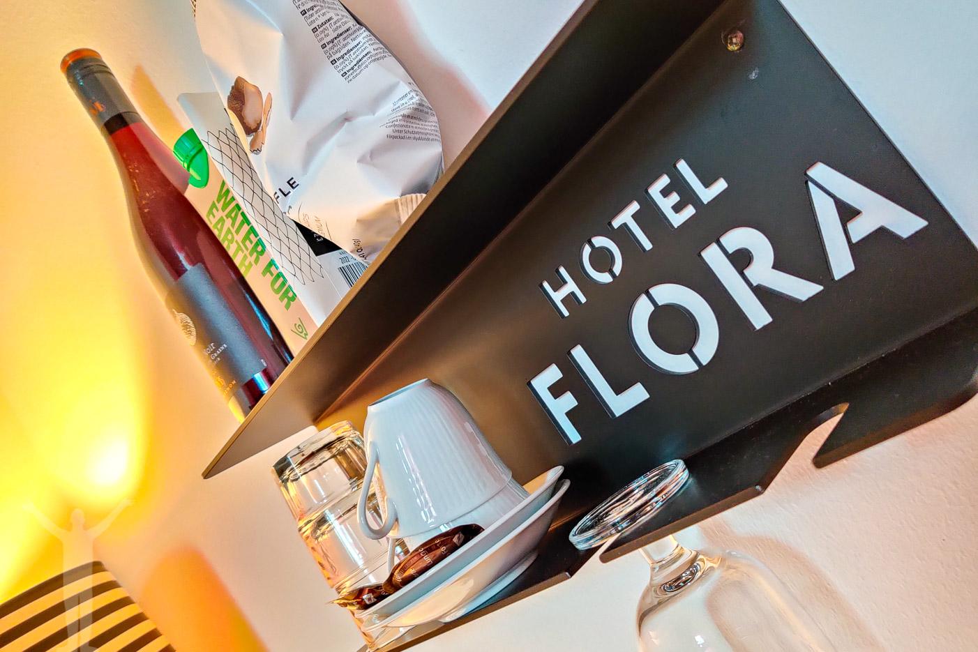 Minibaren på Hotel Flora