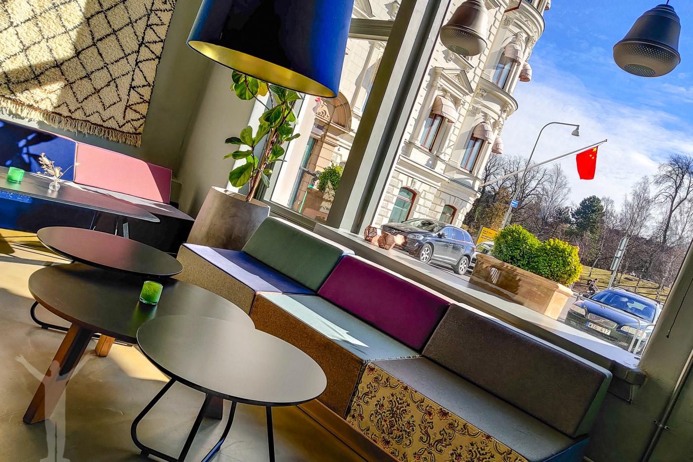 Utsikt från Workspace på Hotel Flora i Göteborg