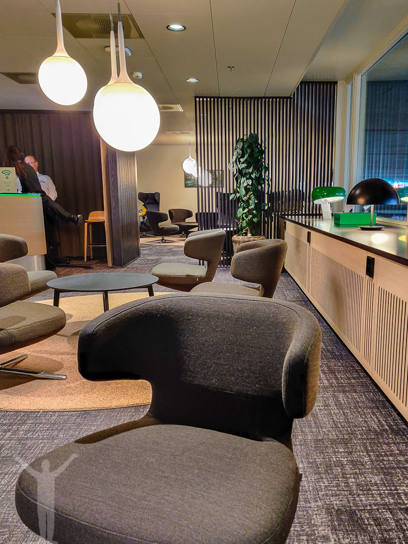 SJ Lounge på Göteborg Central