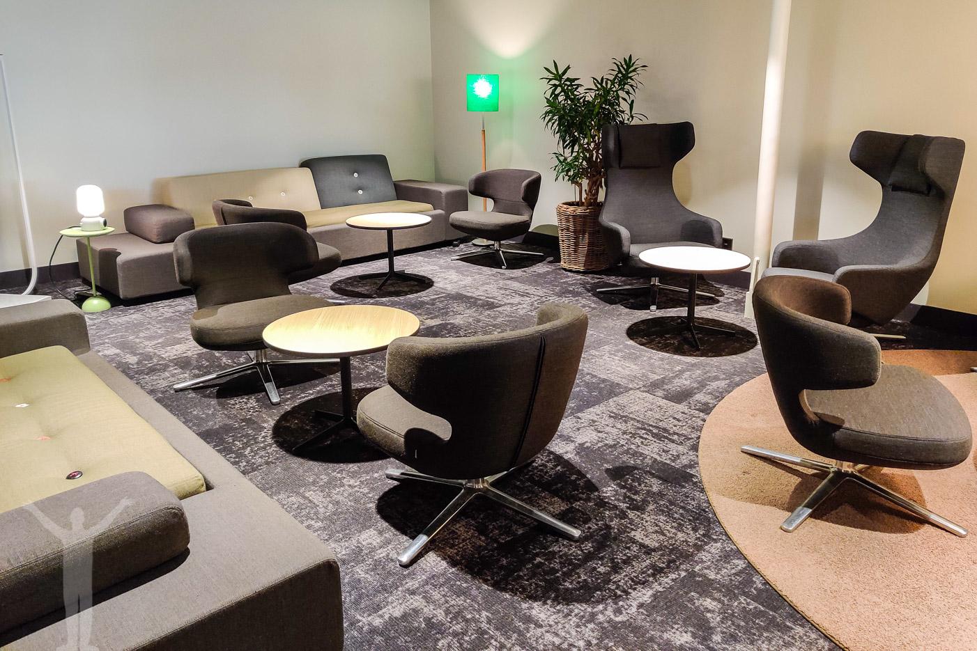 SJ:s nya lounge på Göteborg C