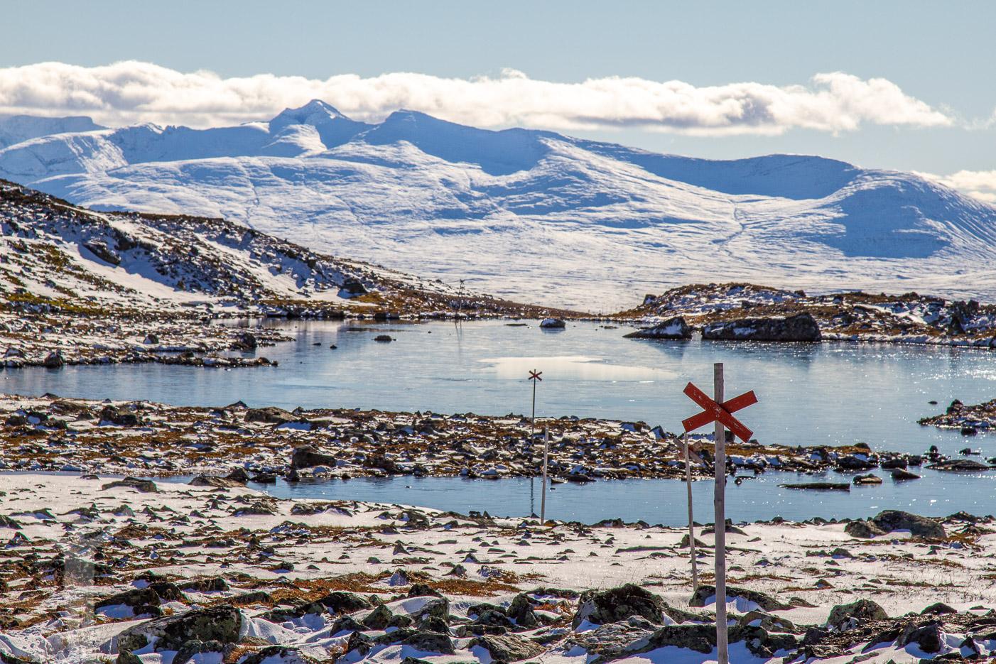 Vinterled i Jämtland