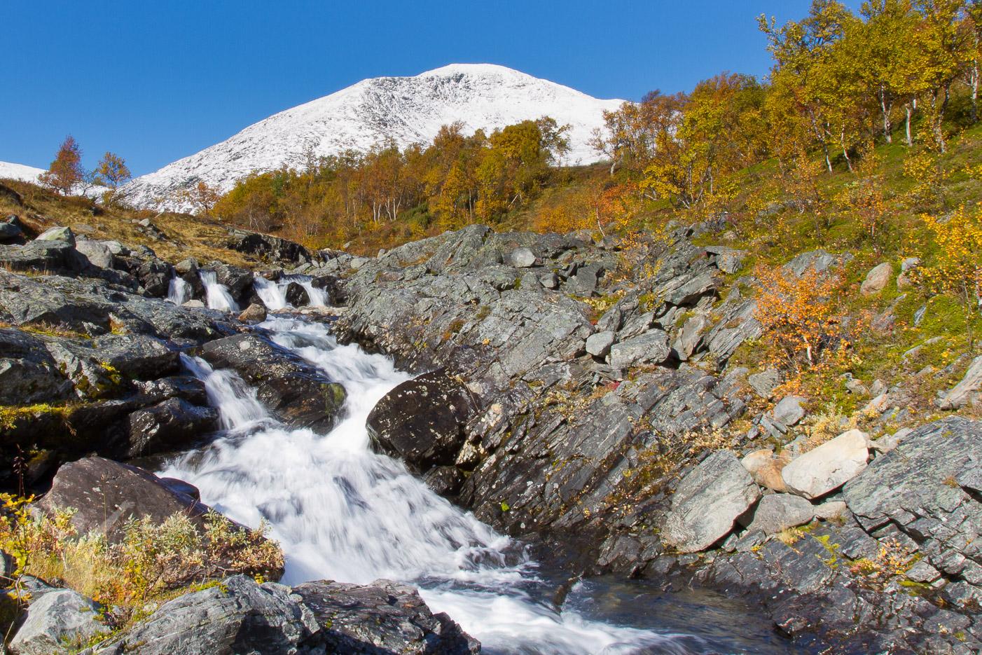 Vattenfall vid Sönner Tväråklump