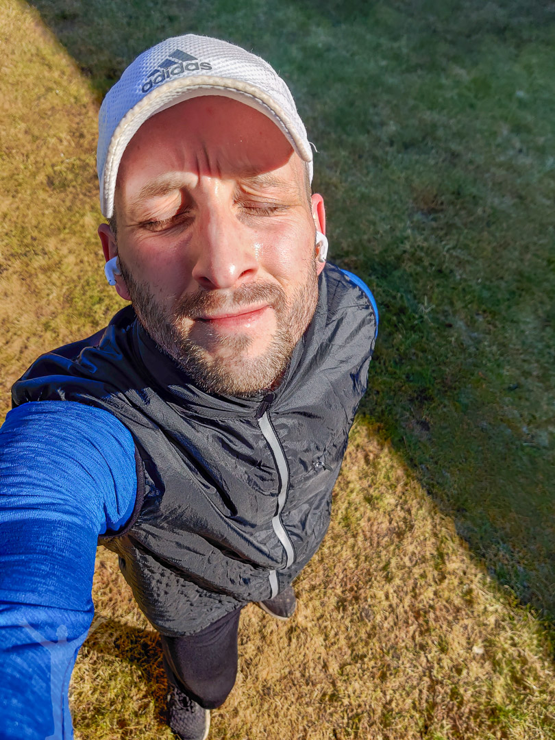 Dryden - löpning i solsken