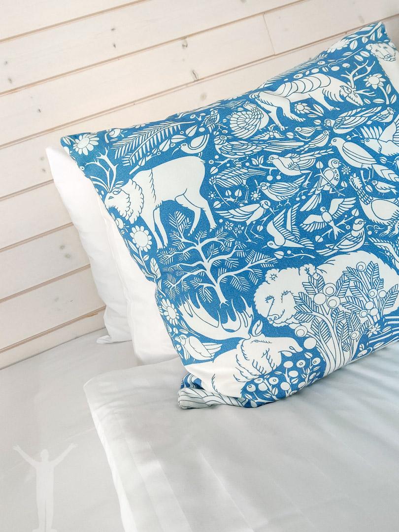 En skön säng på Granö