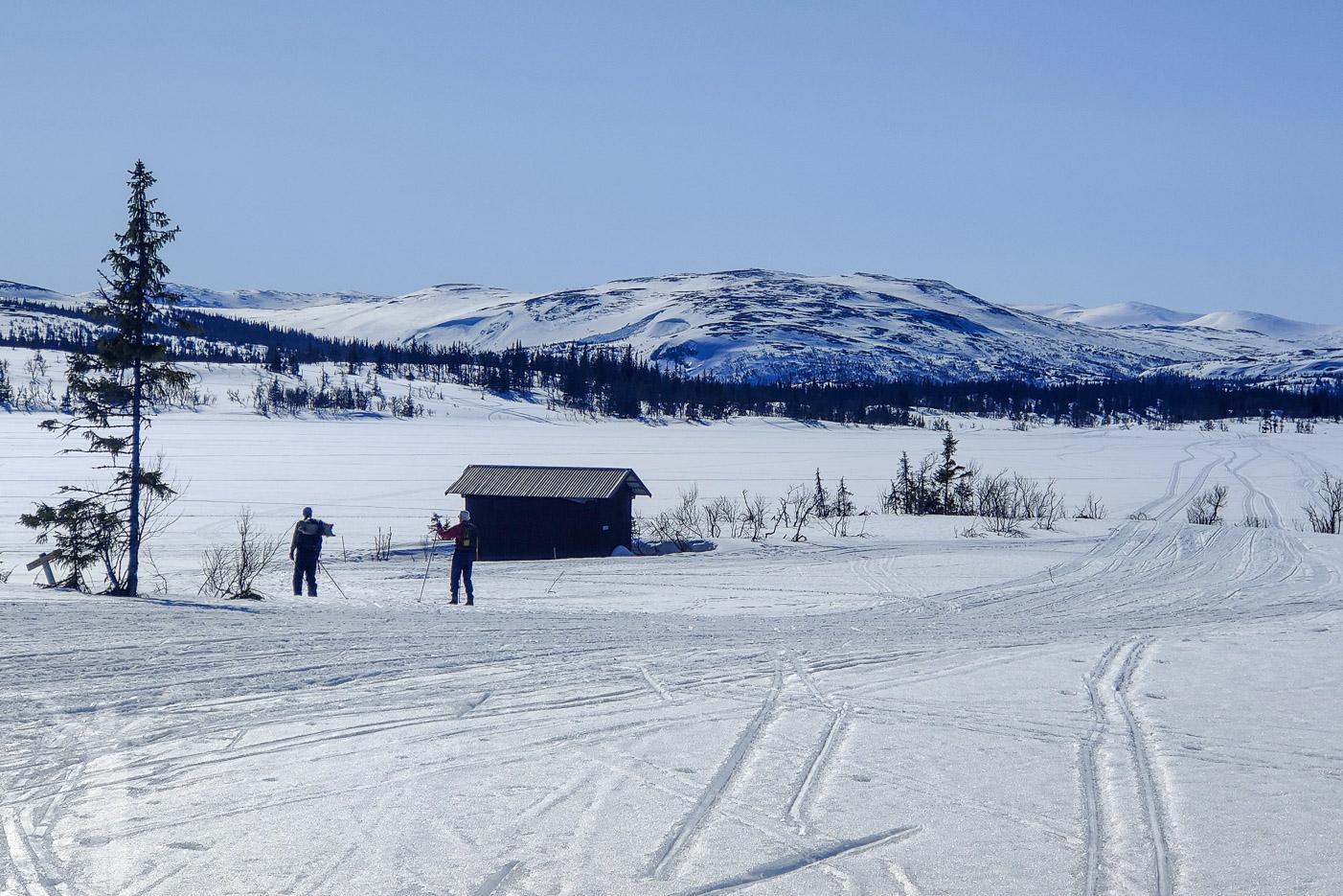 Lyckans Läger, längs Älgbergsrundan i Edsåsdalen (Åre)