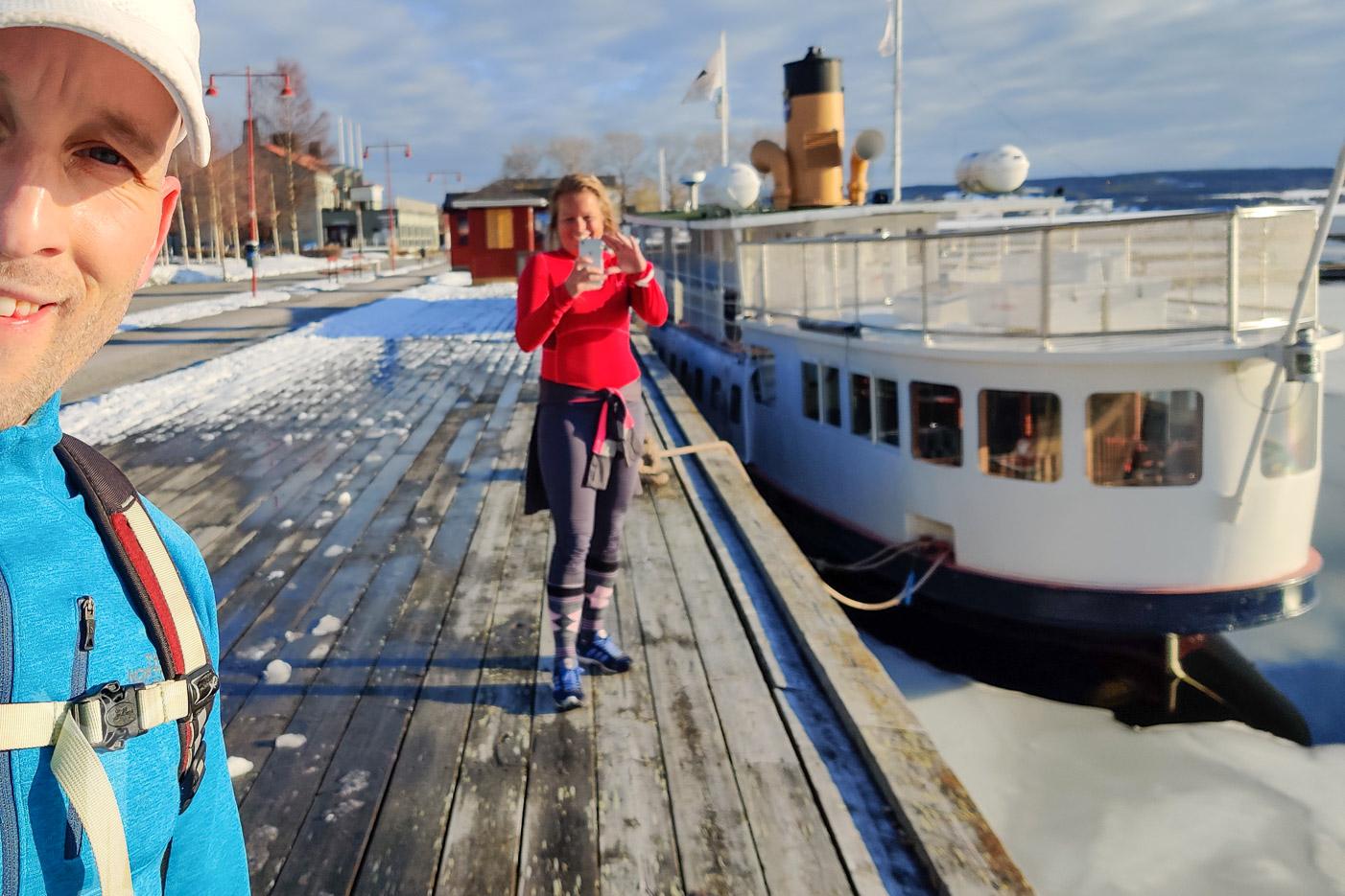 Sightseeing med Pernilla