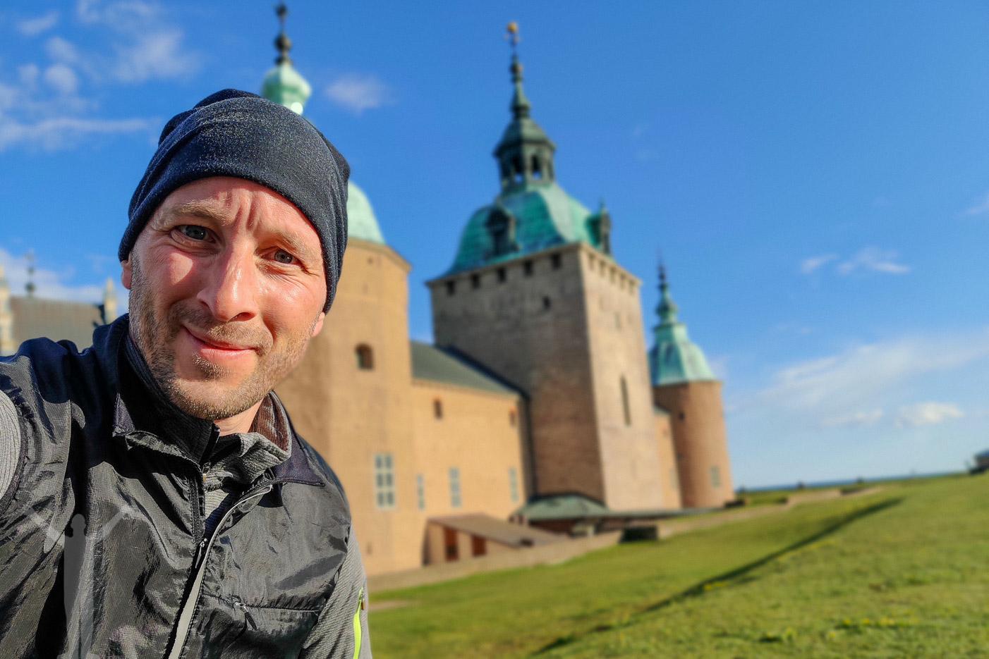Runstreak vid Kalmar Slott