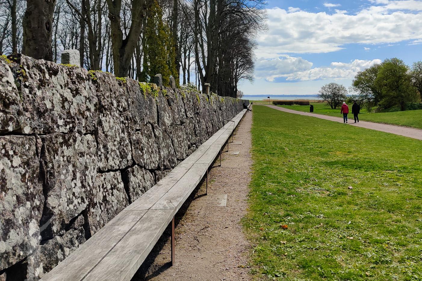 Gustav Vasa-bänken i Kalmar
