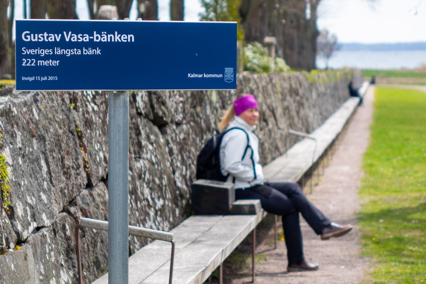 Sveriges längsta bänk
