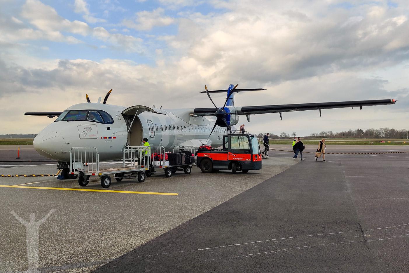 SAS ATR 72 på Kalmar Öland Airport