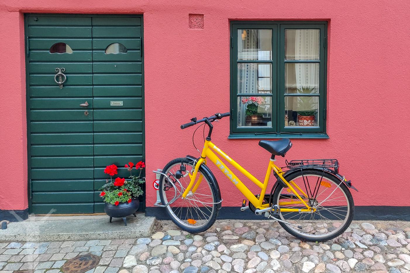 Cykel i Ystad