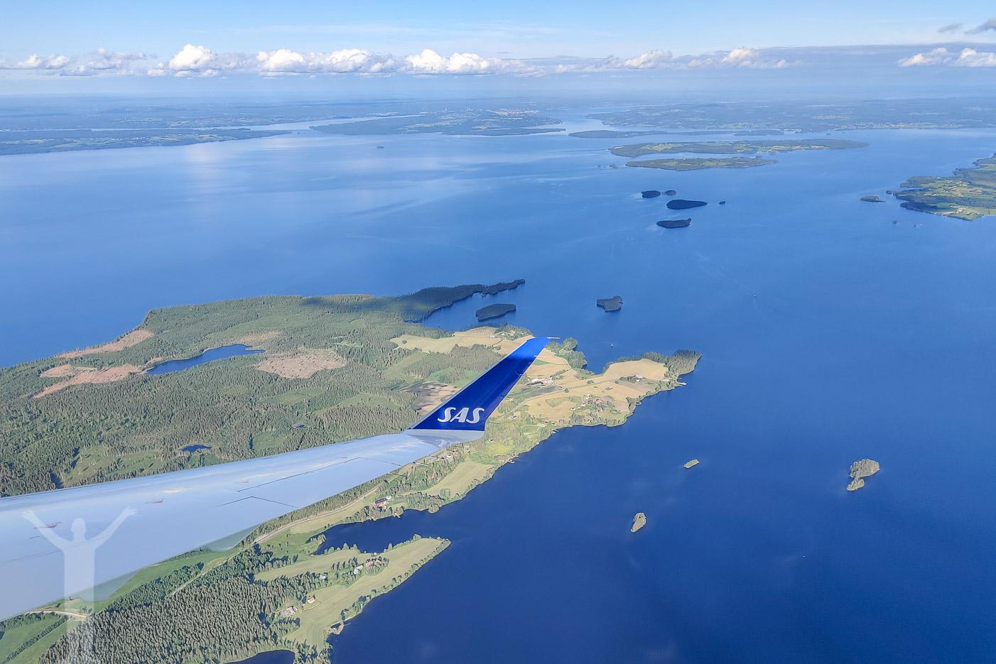 Inflygning till Åre Östersund Airport