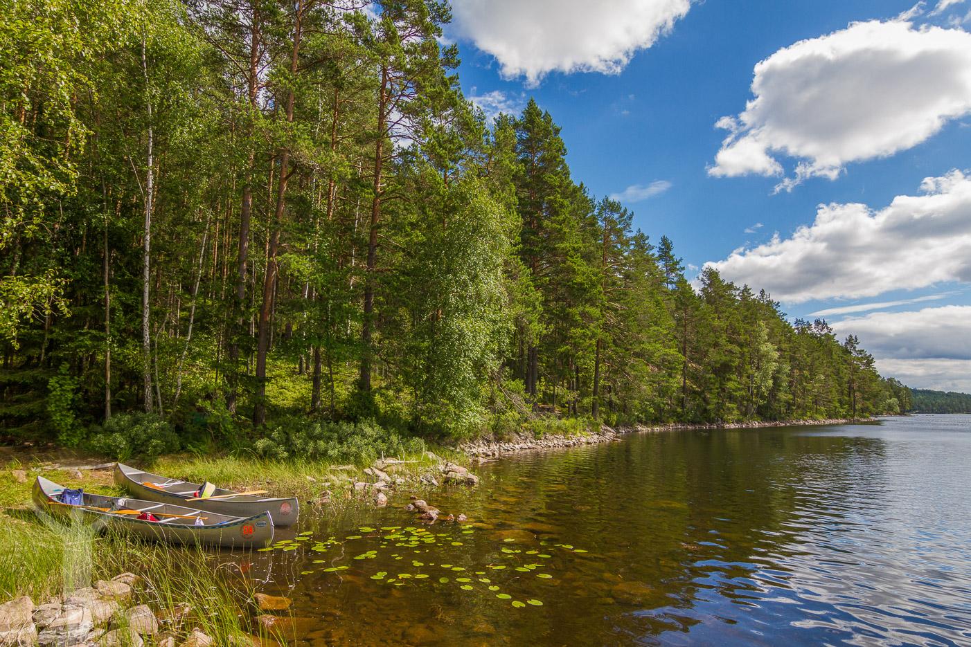 Paddla kanot i Dalsland