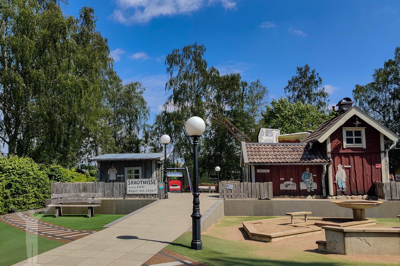 Skrotnisses lekpark på Spikön i Trollhättan