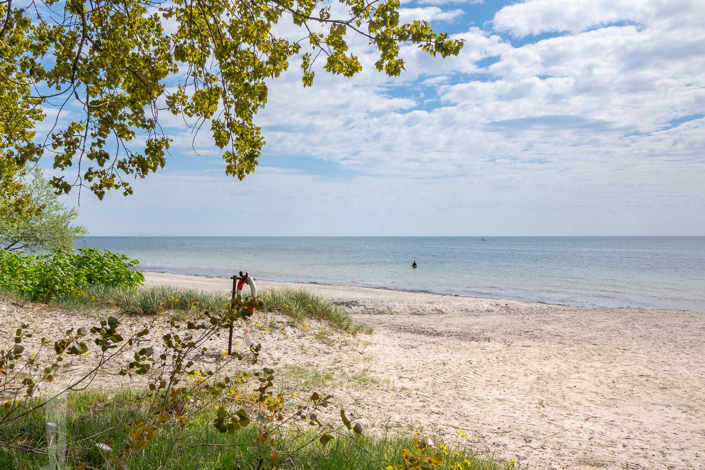 Stranden i Trelleborg