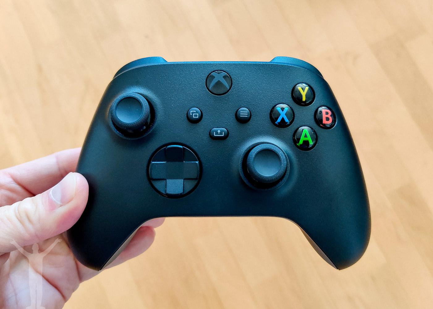 Handkontrollen till Xbox Series X