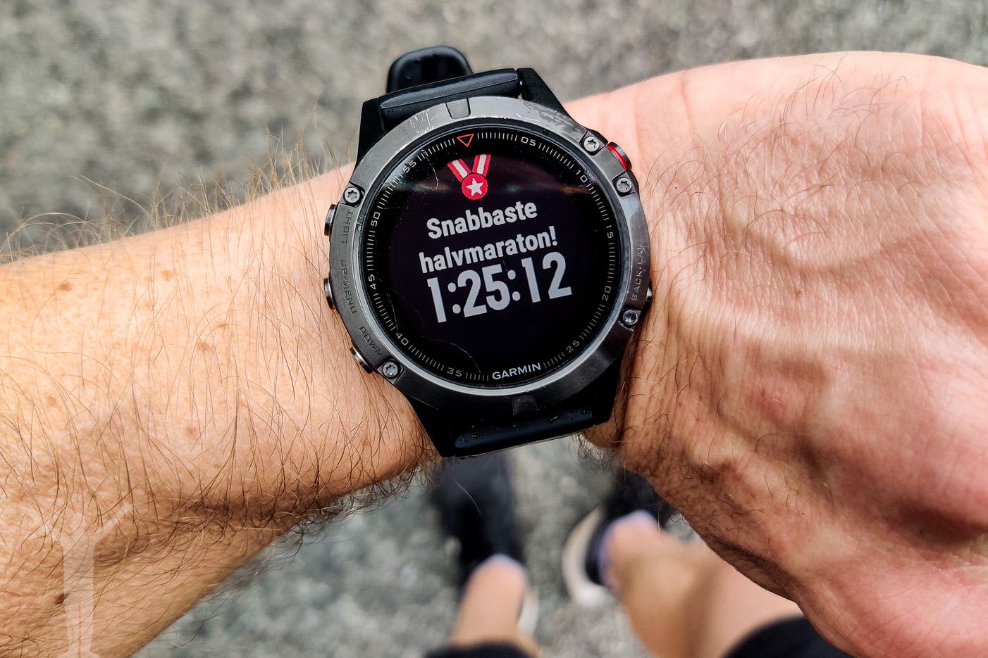 Personbästa på 21,1 km halvmaraton